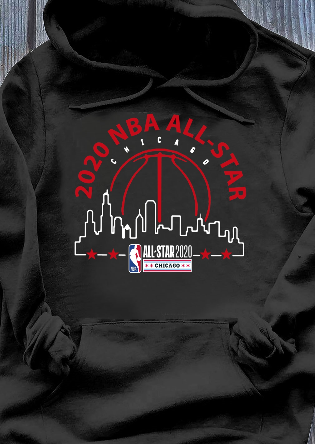 2020 NBA AllStar Black Got The Skills shirt Hoodie