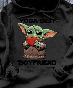 Baby Yoda Best Boyfriend Shirt Hoodie