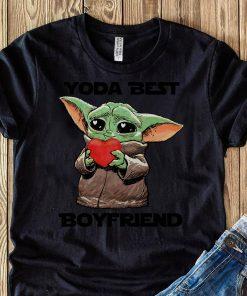 Baby Yoda Best Boyfriend Shirt