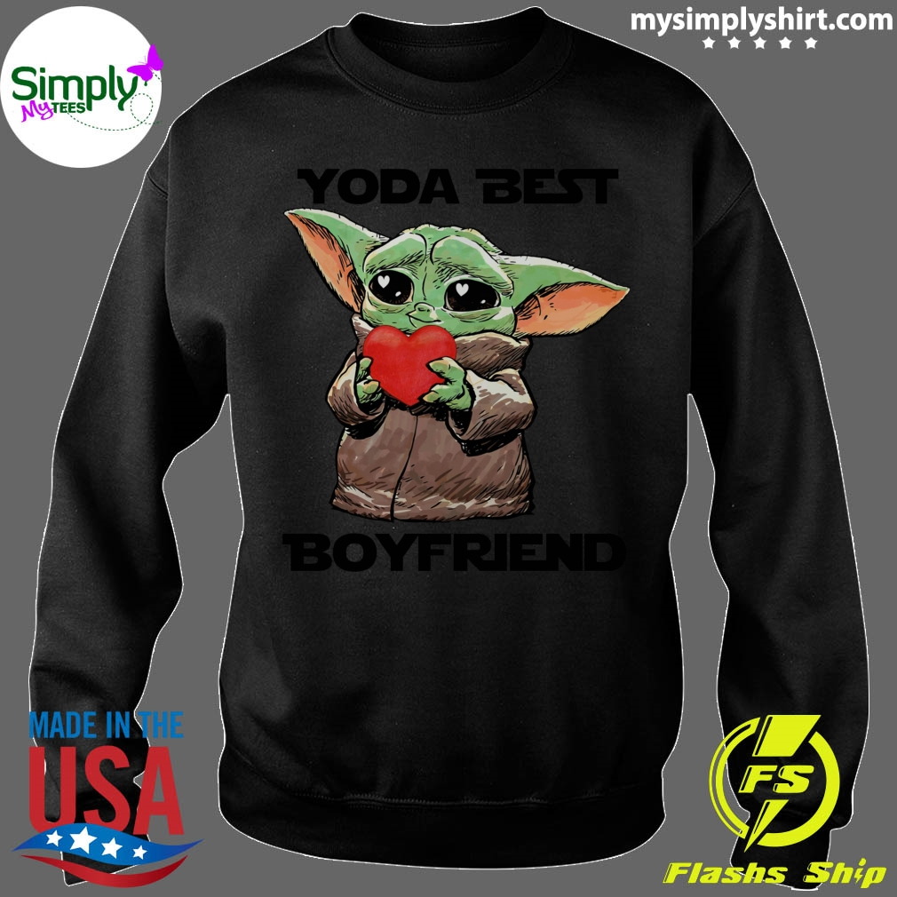 Baby Yoda Best Boyfriend Shirt Sweater
