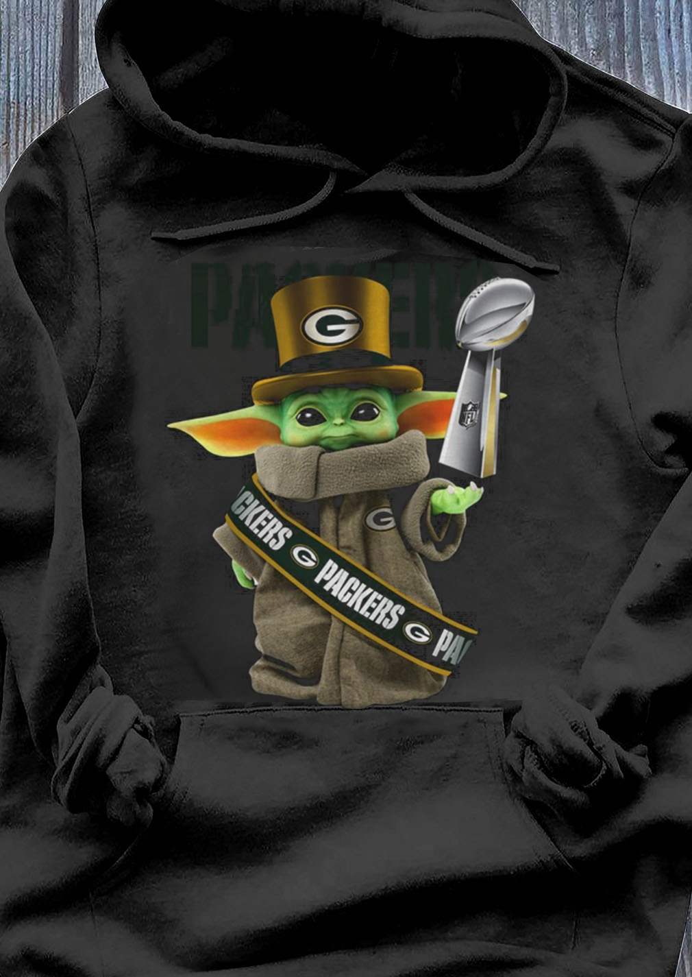 Baby Yoda Green Bay Packer Cup shirt Hoodie