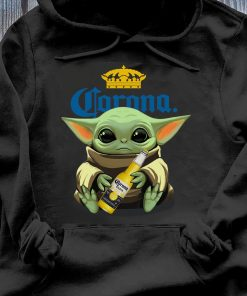 Baby Yoda Hug Corona Extra shirt Hoodie