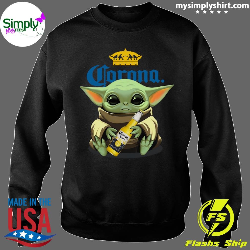 Baby Yoda Hug Corona Extra shirt Sweater