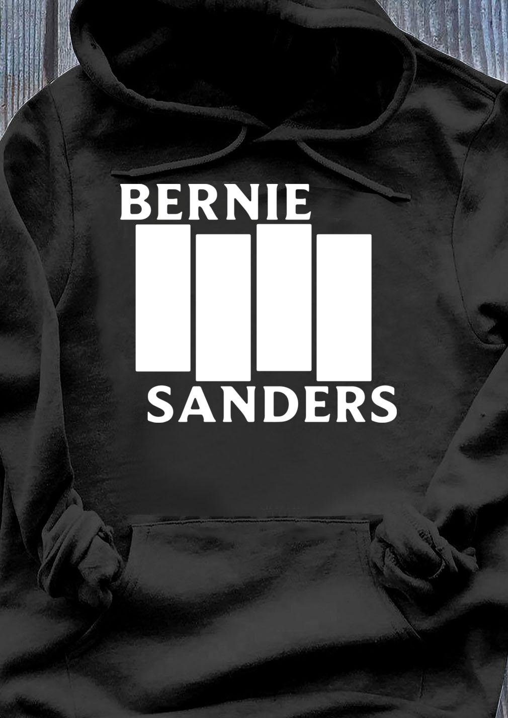 Bernie Sanders Black Flag shirt Hoodie