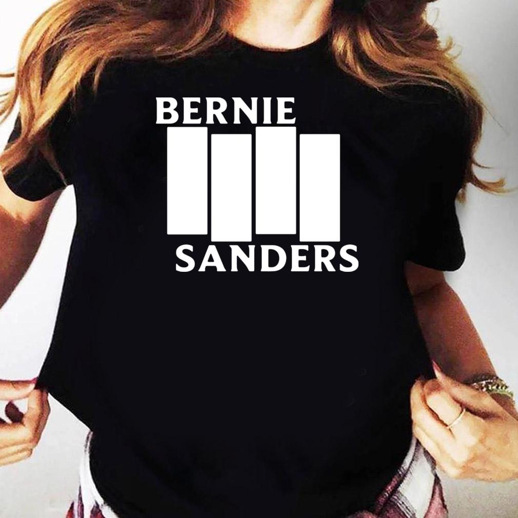 Bernie Sanders Black Flag shirt Ladies tee
