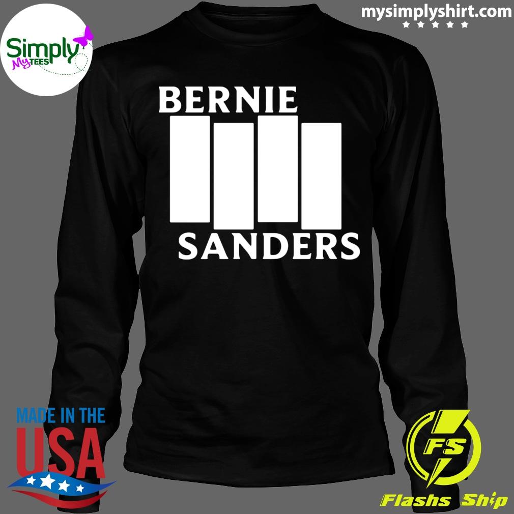 Bernie Sanders Black Flag shirt Longsleeve black