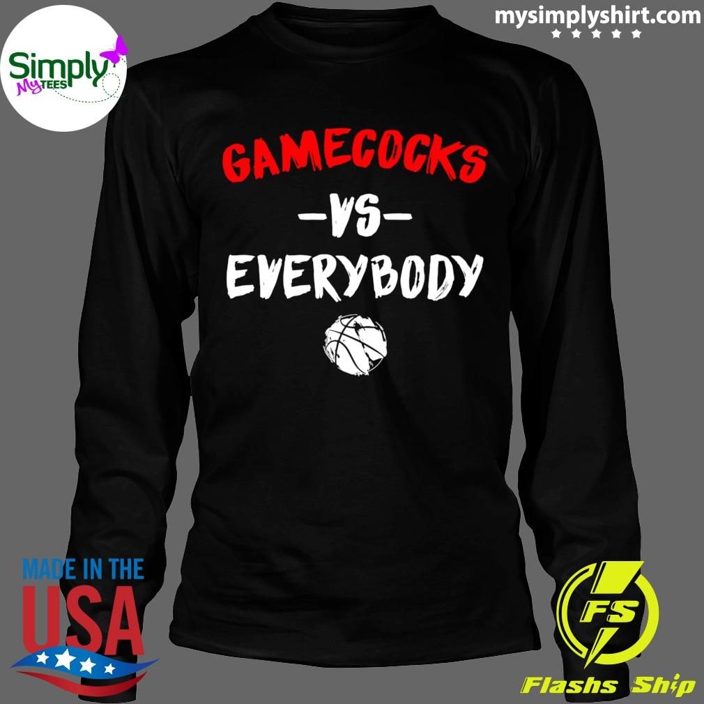 Gamecocks Vs Everybody Shirt Longsleeve black