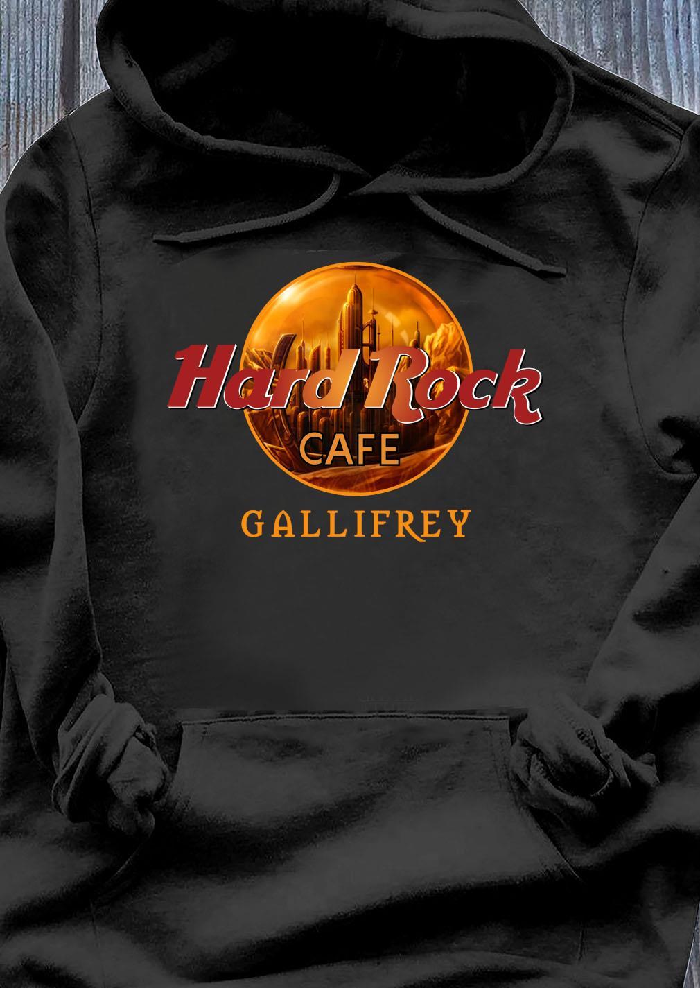 Hard rock cafe Gallifrey s Hoodie