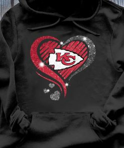 Heart Diamond Kansas City Chiefs Super Bowl Champions Shirt Hoodie