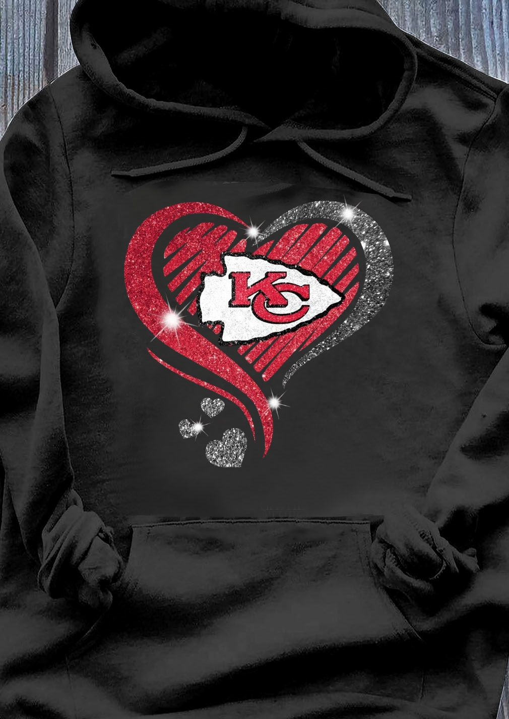 Heart Diamond Kansas City Chiefs Super Bowl Champions Shirt Hoodie