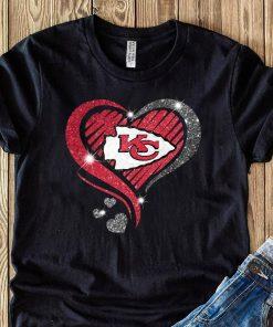 Heart Diamond Kansas City Chiefs Super Bowl Champions Shirt