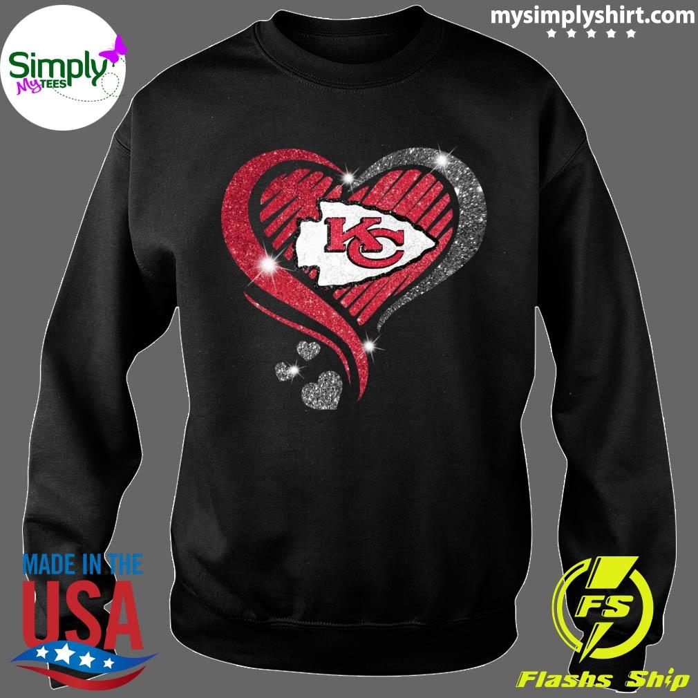 Heart Diamond Kansas City Chiefs Super Bowl Champions Shirt Sweater