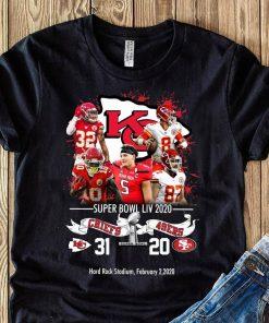 Kansas City Chiefs NFL Super Bowl Liv 2020 Vs San Francisco 49ers shirt