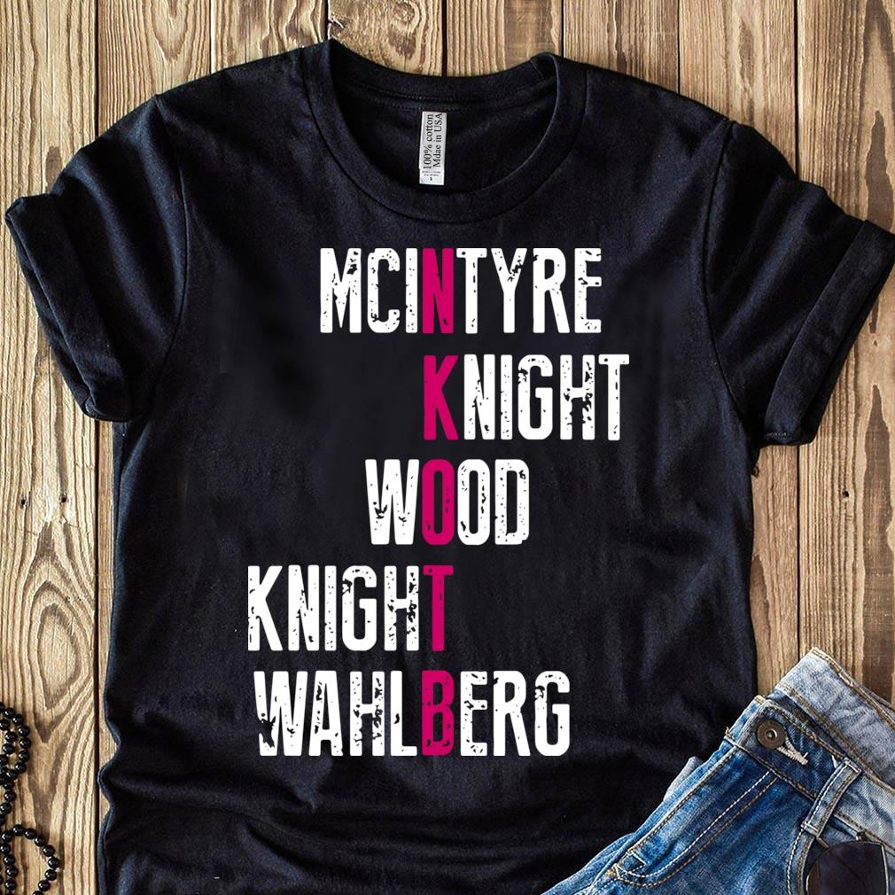 Mcintyre knight wood knight wahlberg shirt
