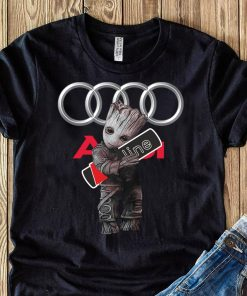 Official Baby Groot hug Audi SLine shirt
