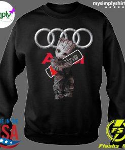 Official Baby Groot hug Audi SLine shirt Sweater