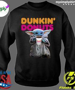 Star Wars Baby Yoda Dunkin' Donuts shirt Sweater