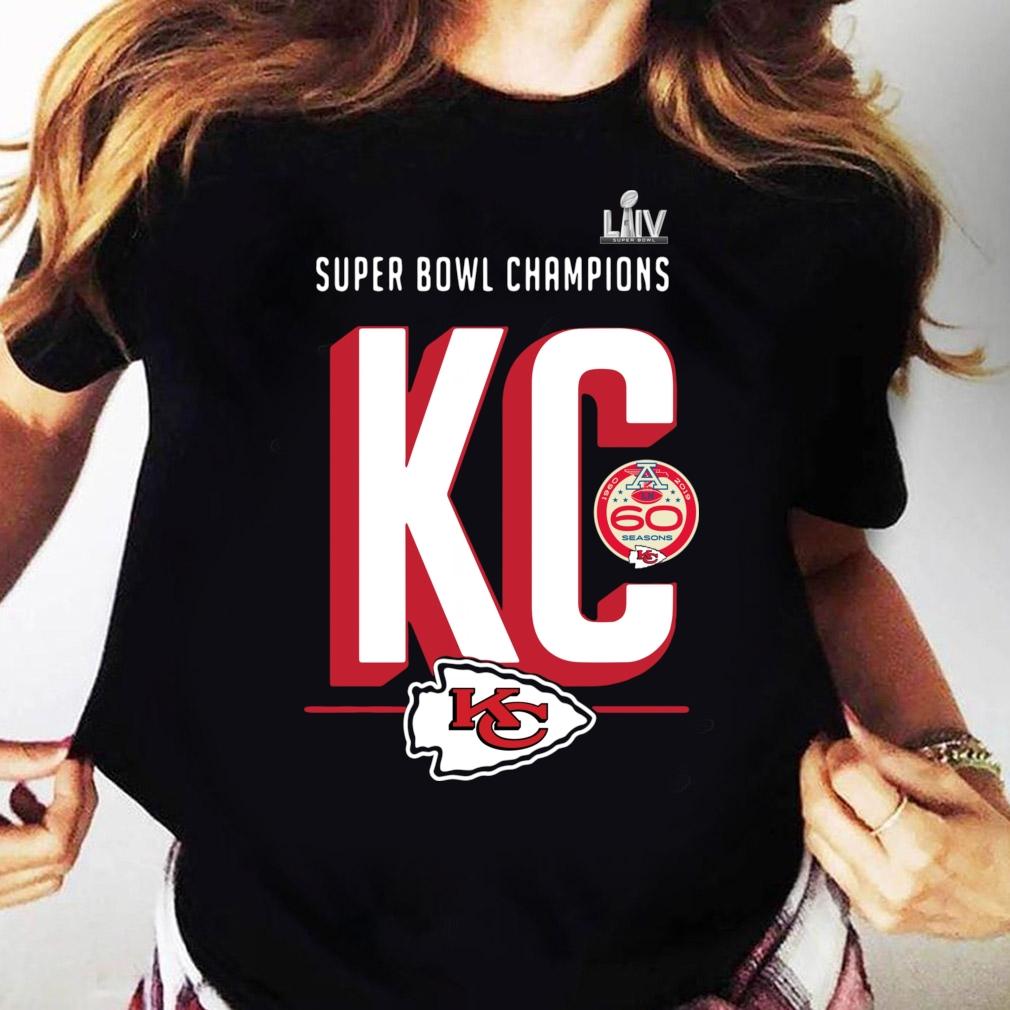 Super Bowl Liv Champions Kansas City Chiefs Hometown 2020 Shirt Ladies tee