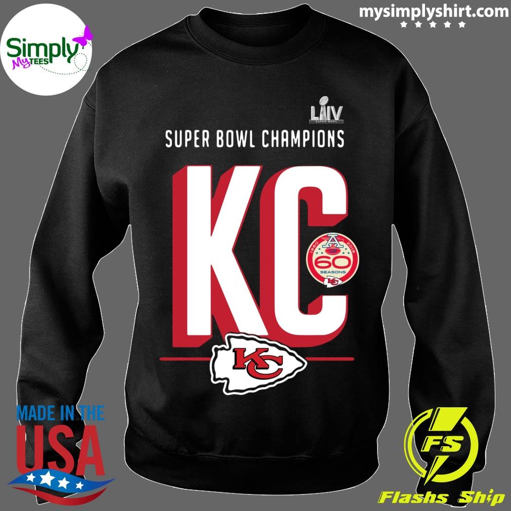 Super Bowl Liv Champions Kansas City Chiefs Hometown 2020 Shirt Sweater