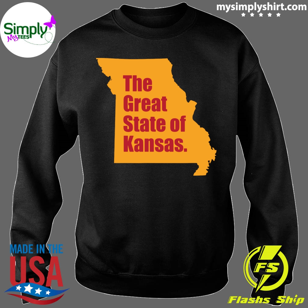 The Great State Of Kansas City Chiefs Super Bowl Shirt Sweater