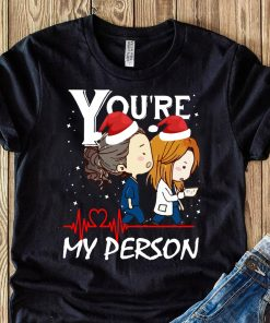 You're My Person Grey's Anatomy Christmas shirt