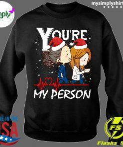 You're My Person Grey's Anatomy Christmas shirt Sweater