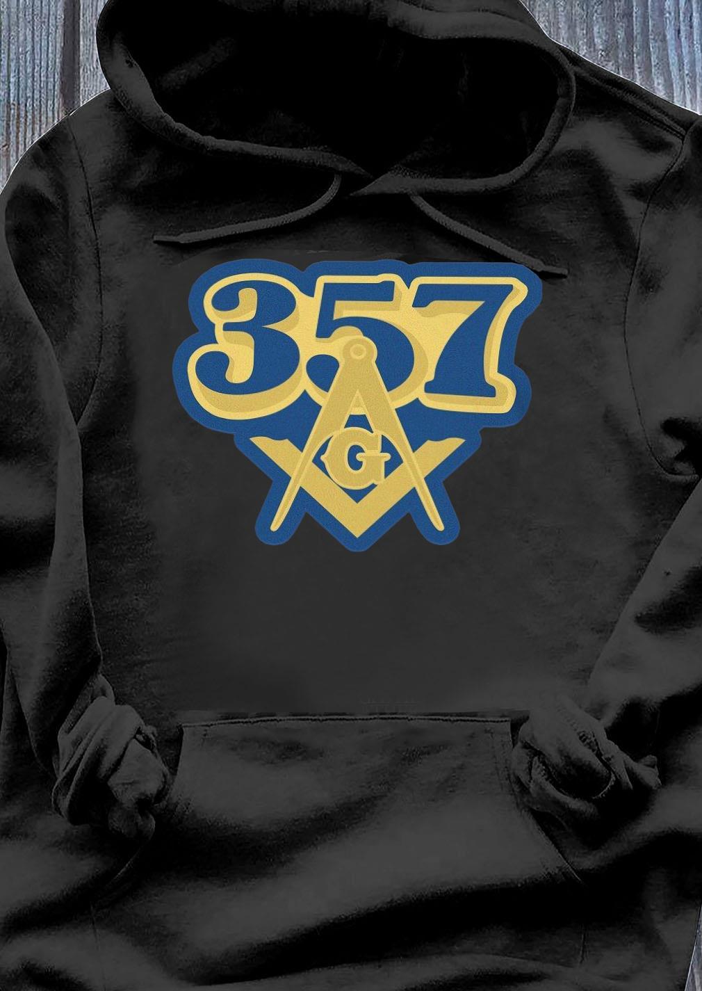 357 Freemasonry Logo Shirt Hoodie