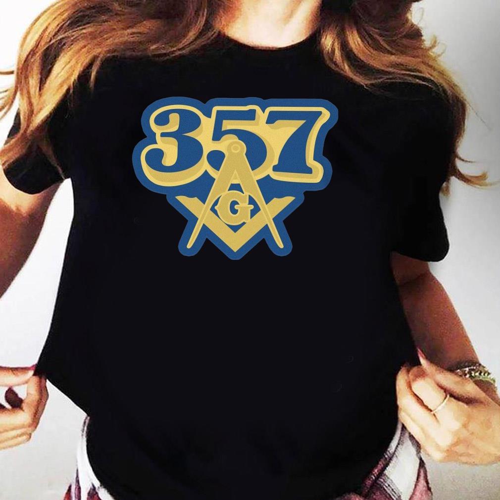 357 Freemasonry Logo Shirt Ladies tee
