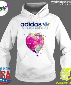 Adidas Logo Heartbeat Hot Air Balloon Shirt Hoodie
