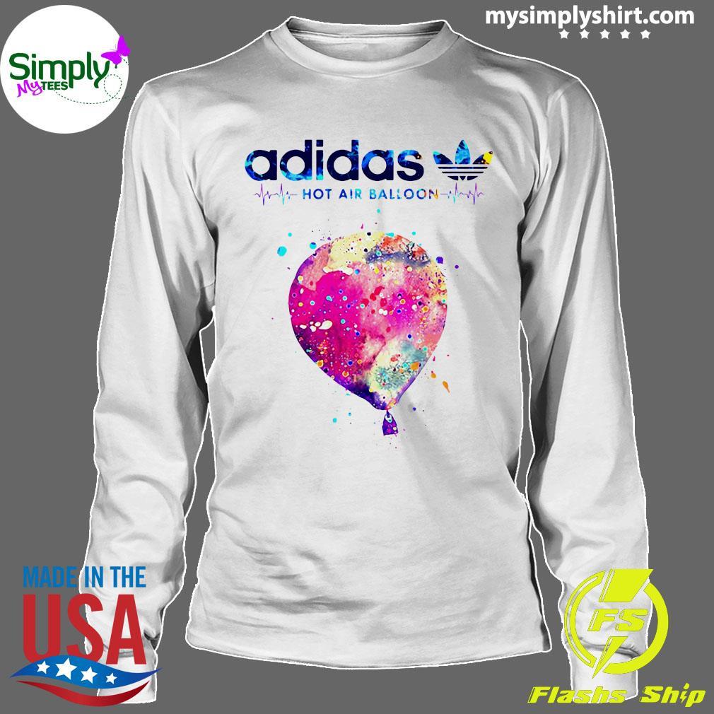 Adidas Logo Heartbeat Hot Air Balloon Shirt Longsleeve