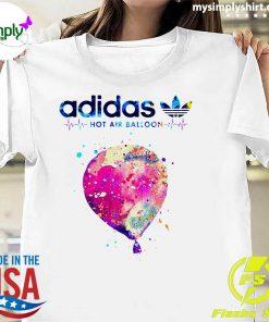 Adidas Logo Heartbeat Hot Air Balloon Shirt