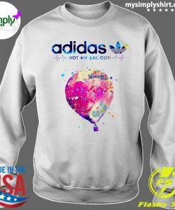 Adidas Logo Heartbeat Hot Air Balloon Shirt Sweater