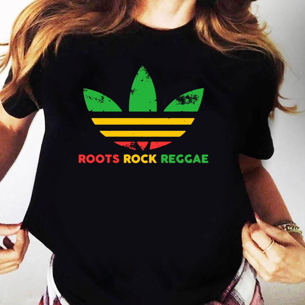 Adidas Roots Rock Reggae Shirt Ladies tee
