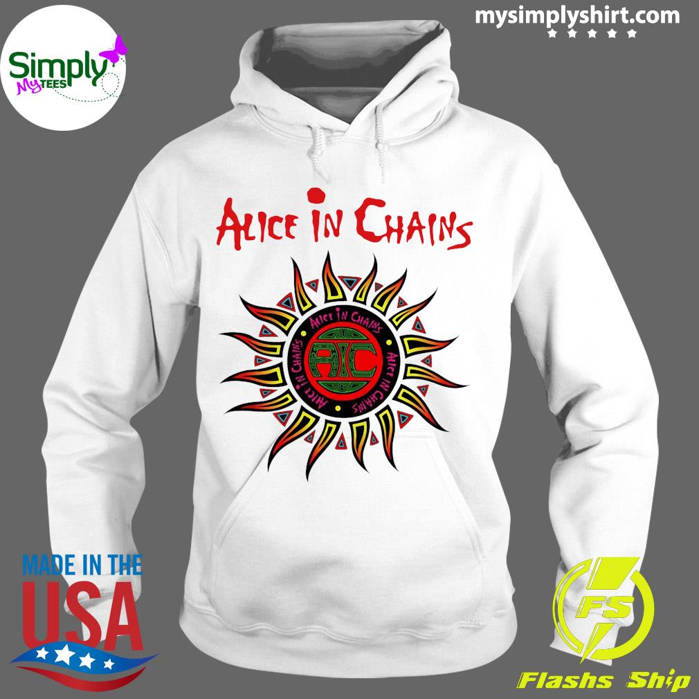 Alice In Chains American Rock Band Logo Shirt Hoodie