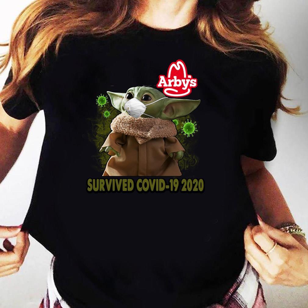 Baby Yoda Arbys Survived Covid 19 2020 Shirt Ladies tee