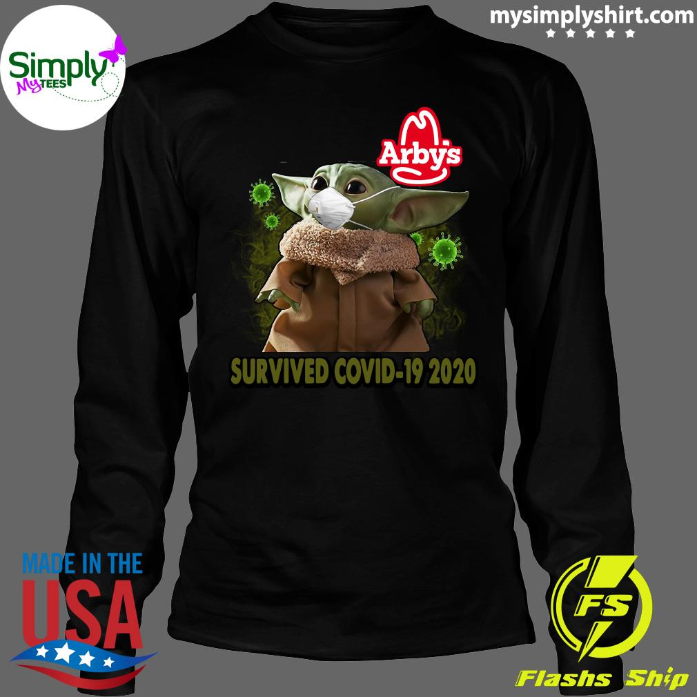 Baby Yoda Arbys Survived Covid 19 2020 Shirt Longsleeve