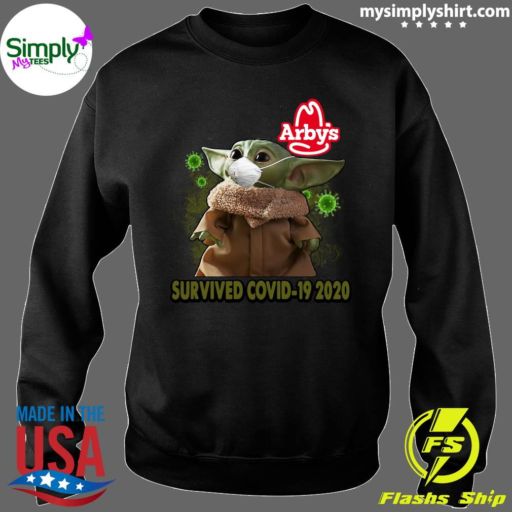 Baby Yoda Arbys Survived Covid 19 2020 Shirt Sweater