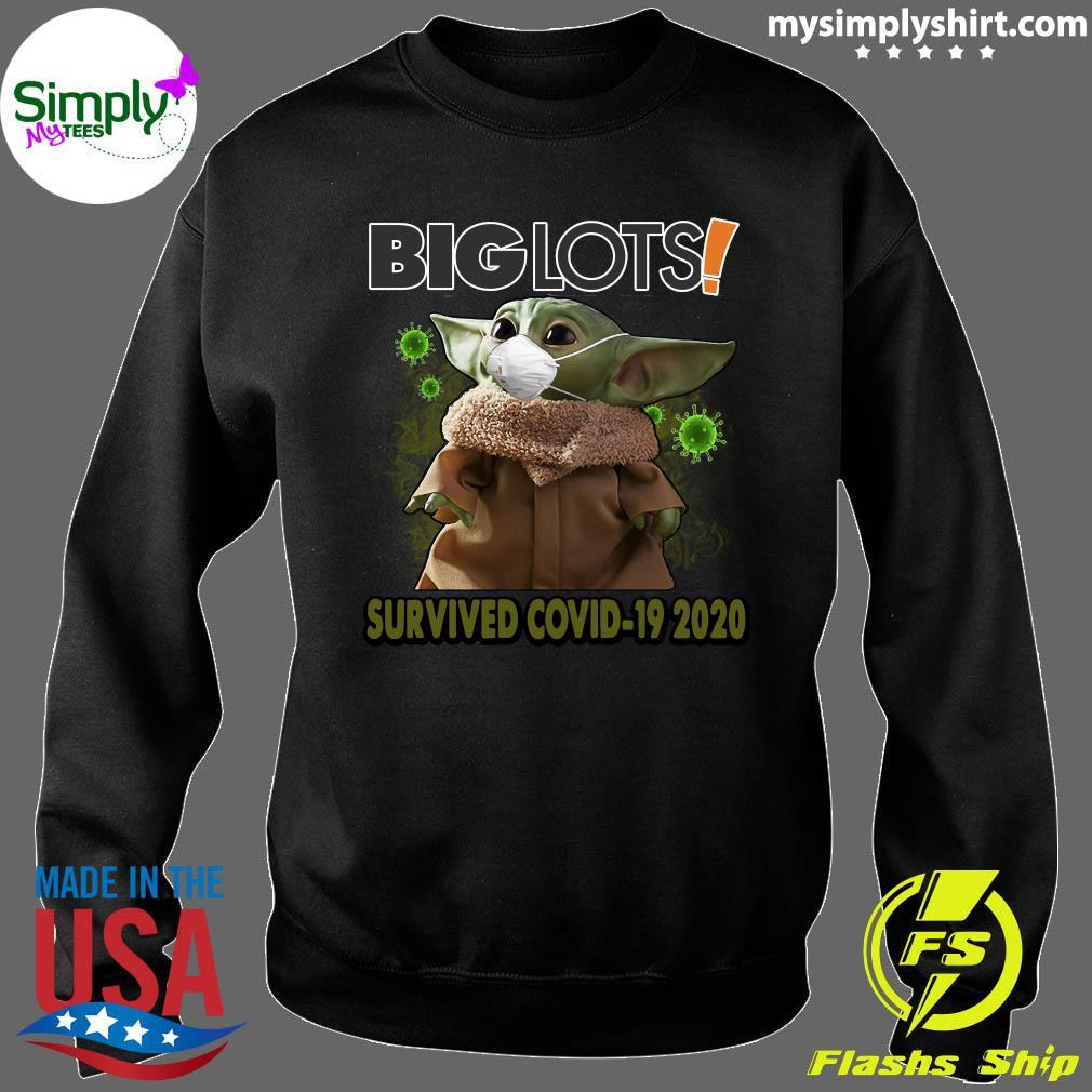 Baby Yoda Big Lots Survived Covid 19 2020 Shirt Sweater