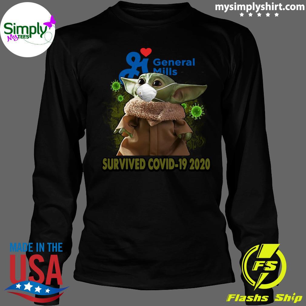 Baby Yoda General Mills Survived Covid 19 2020 Shirt Longsleeve