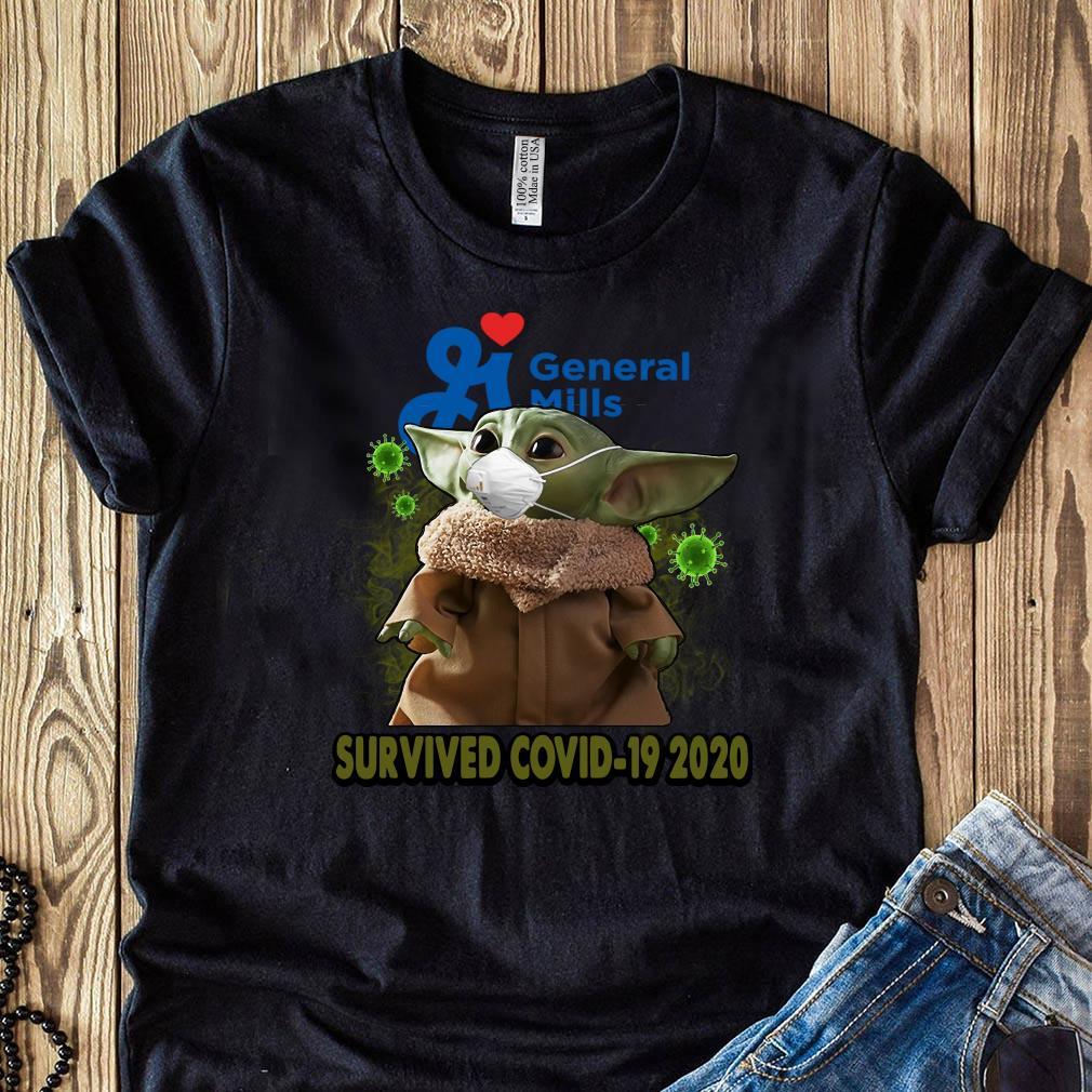 Baby Yoda General Mills Survived Covid 19 2020 Shirt