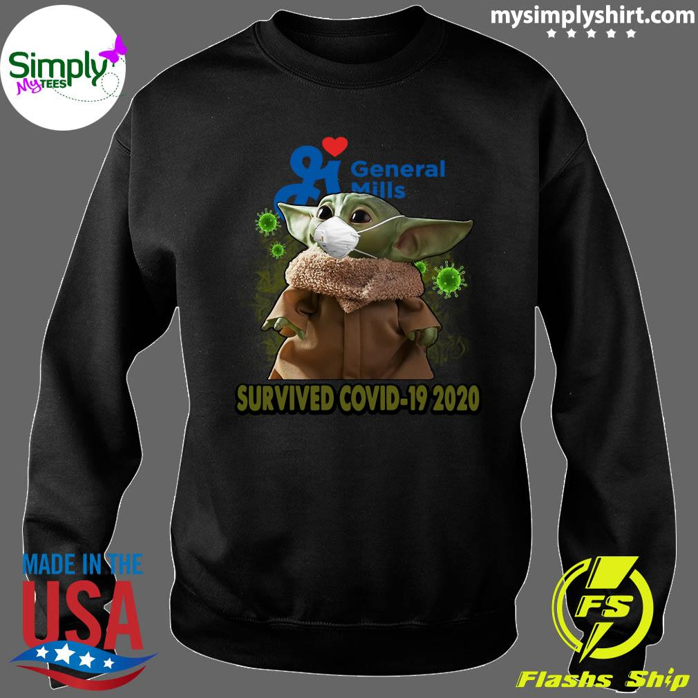 Baby Yoda General Mills Survived Covid 19 2020 Shirt Sweater