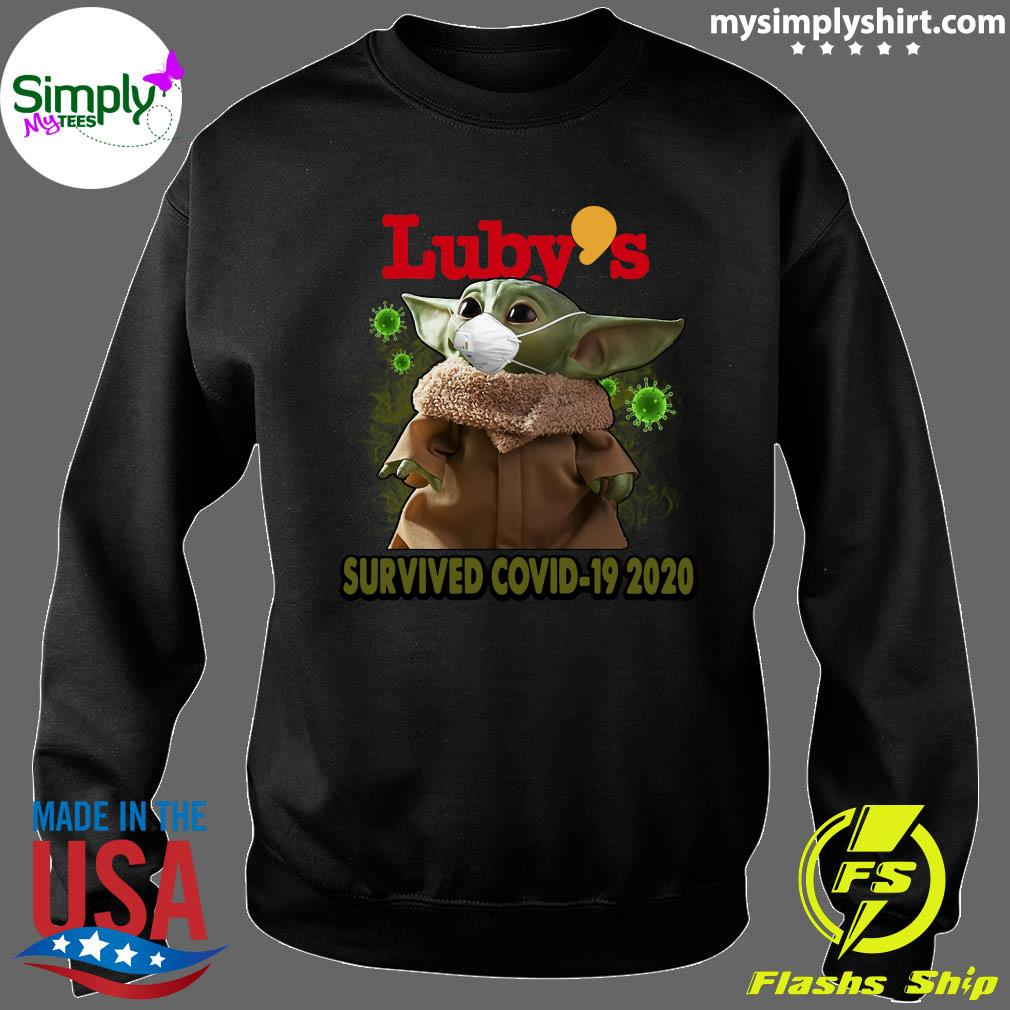 Baby Yoda Luby's Survived Covid 19 2020 Shirt Sweater