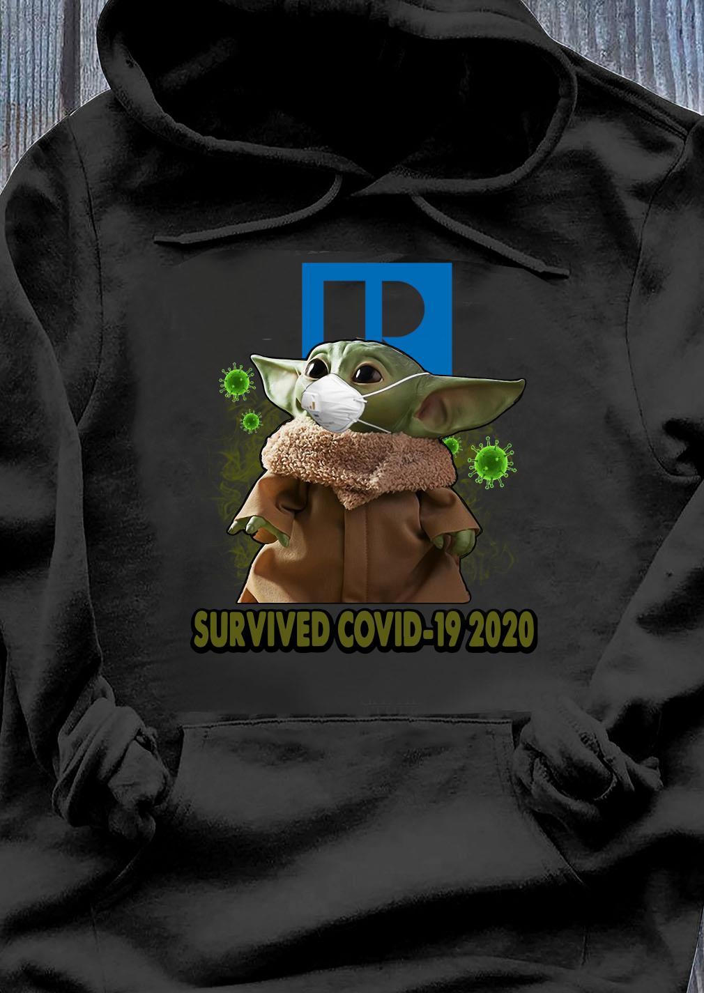 Baby Yoda Realtors Survived Covid 19 2020 Shirt Hoodie