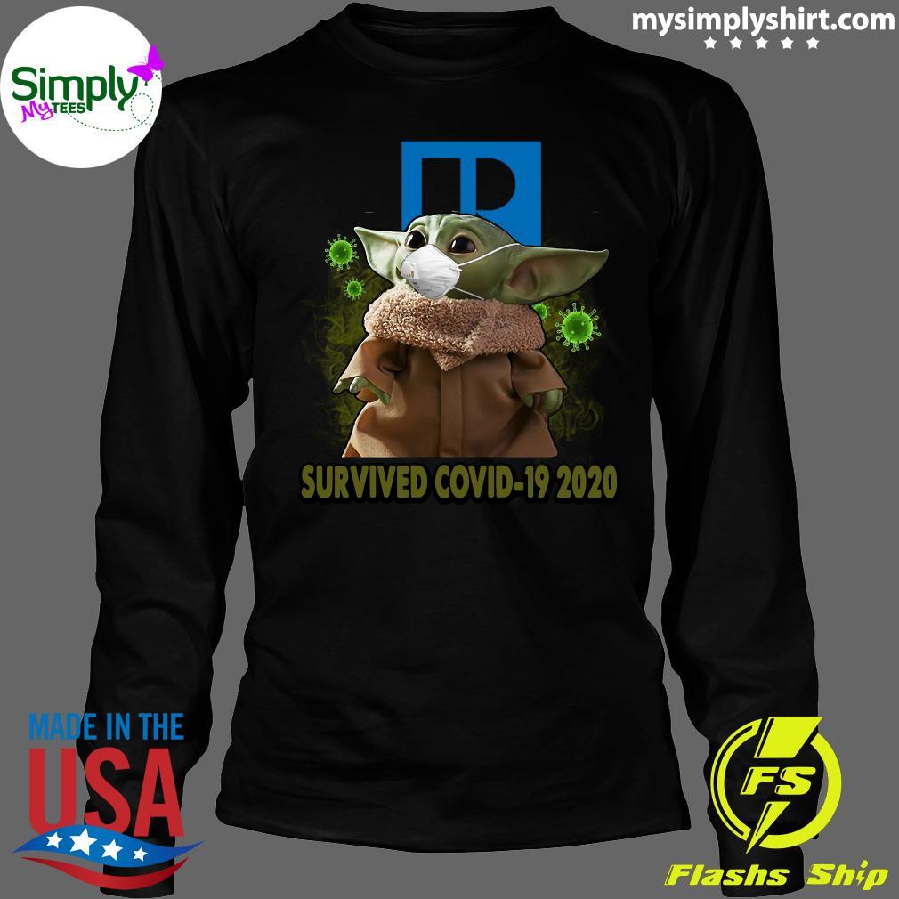 Baby Yoda Realtors Survived Covid 19 2020 Shirt Longsleeve