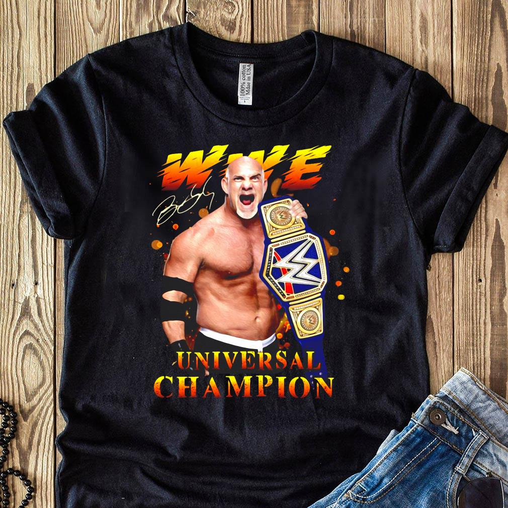 Bill Goldberg Wwe Universal Champion Signature Shirt