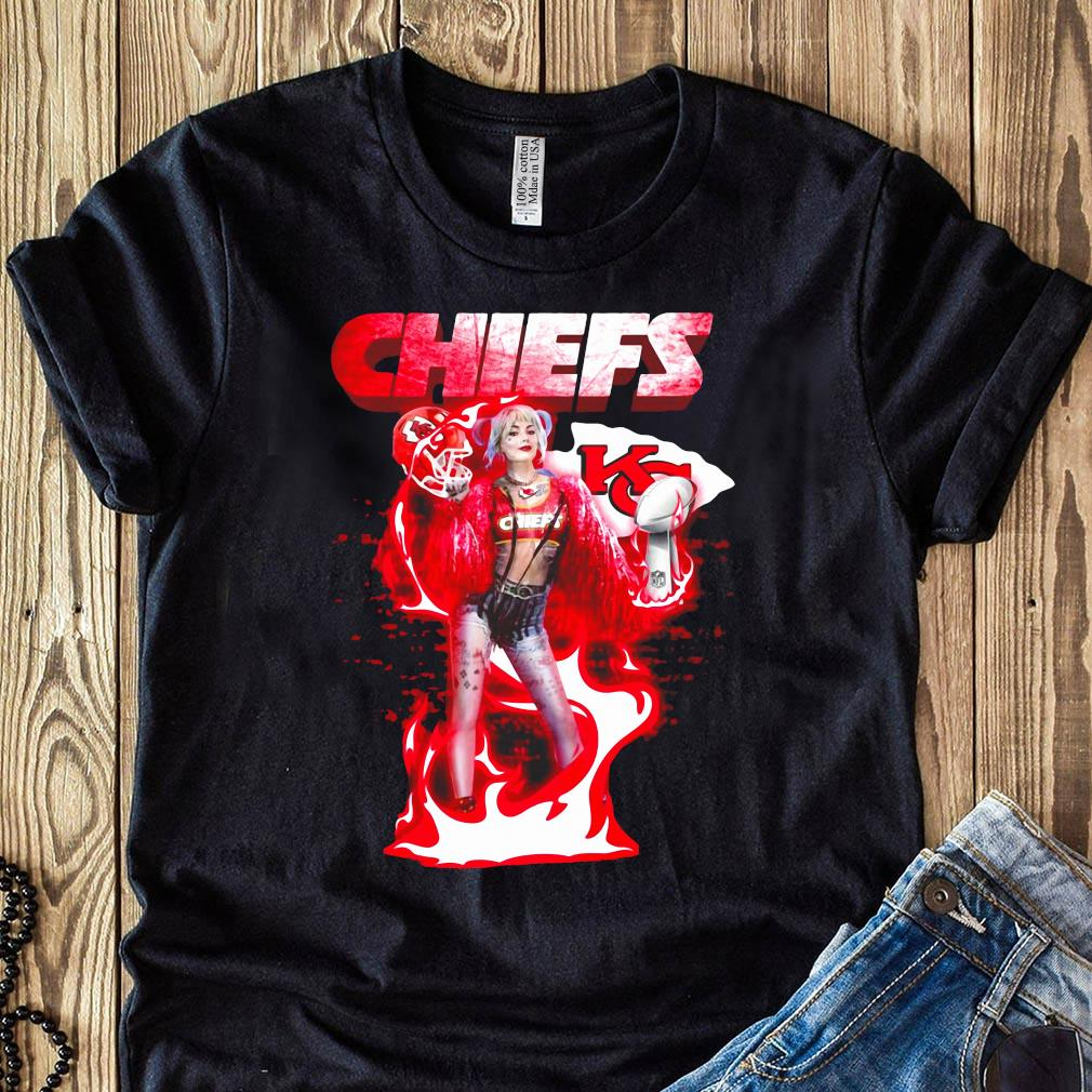 Birds Of Prey Harley Quinn Love Kansas City Chiefs Champions Super Bowl Liv Shirt