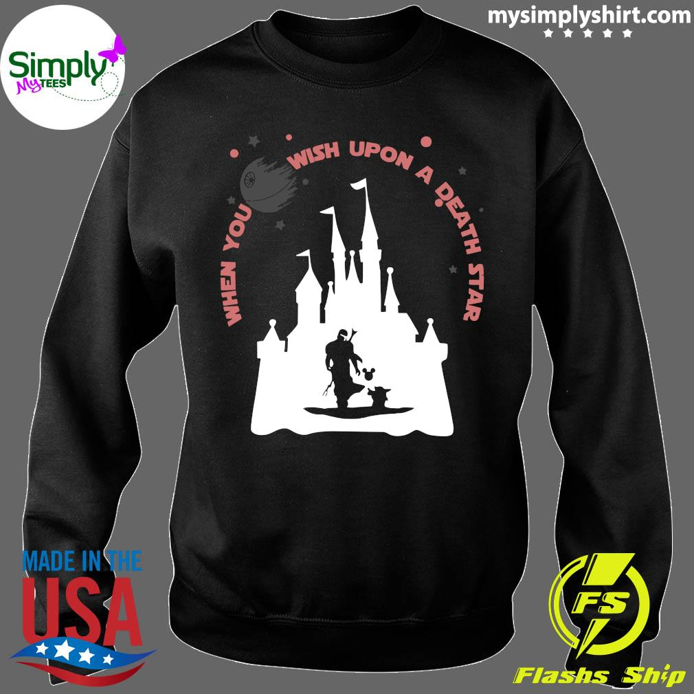 Darth Vader Mickey When You Wish Upon A Death Star Shirt Sweater