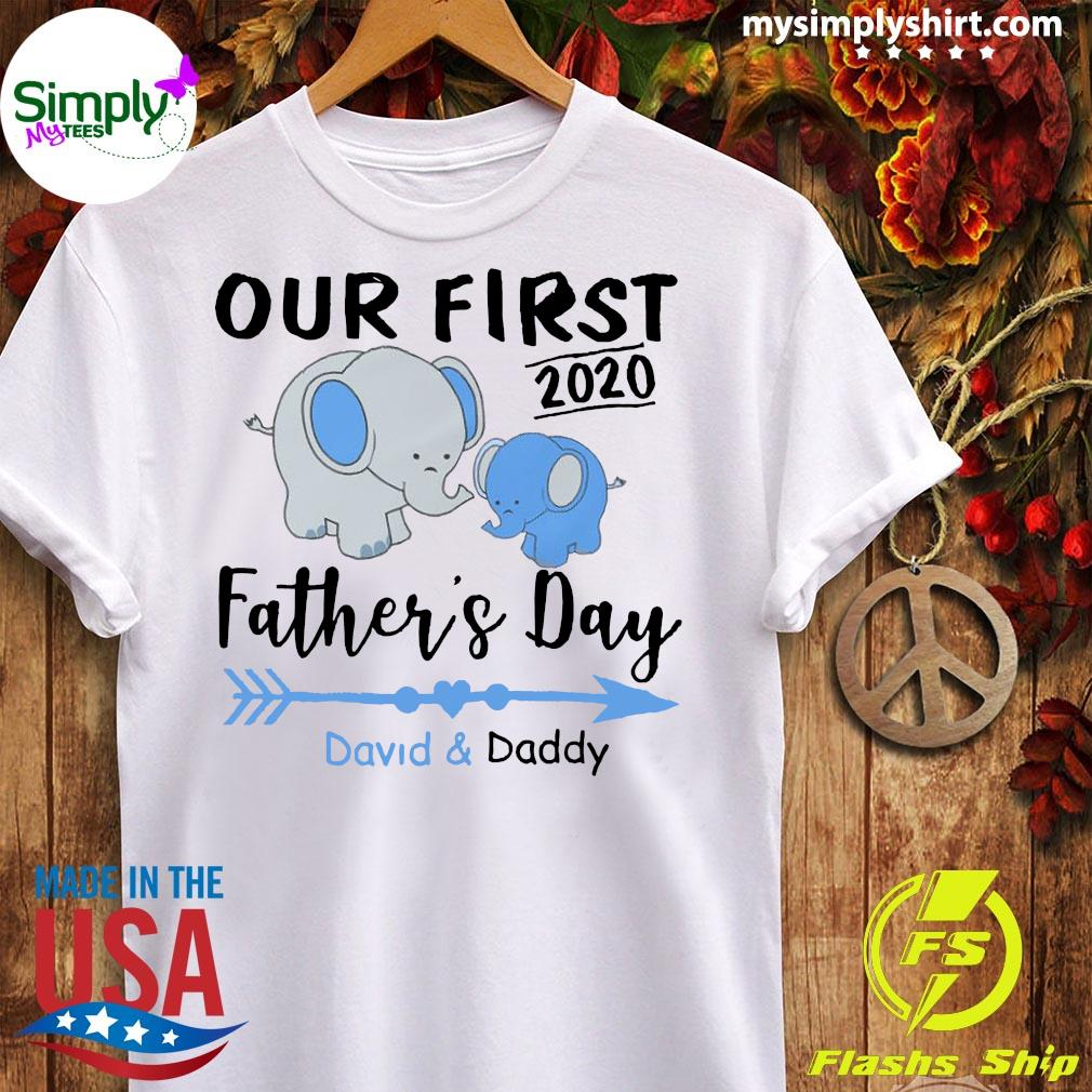 Family Daddy And Baby Matching Shirt Ladies tee