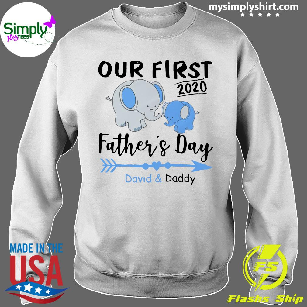 Family Daddy And Baby Matching Shirt Sweater