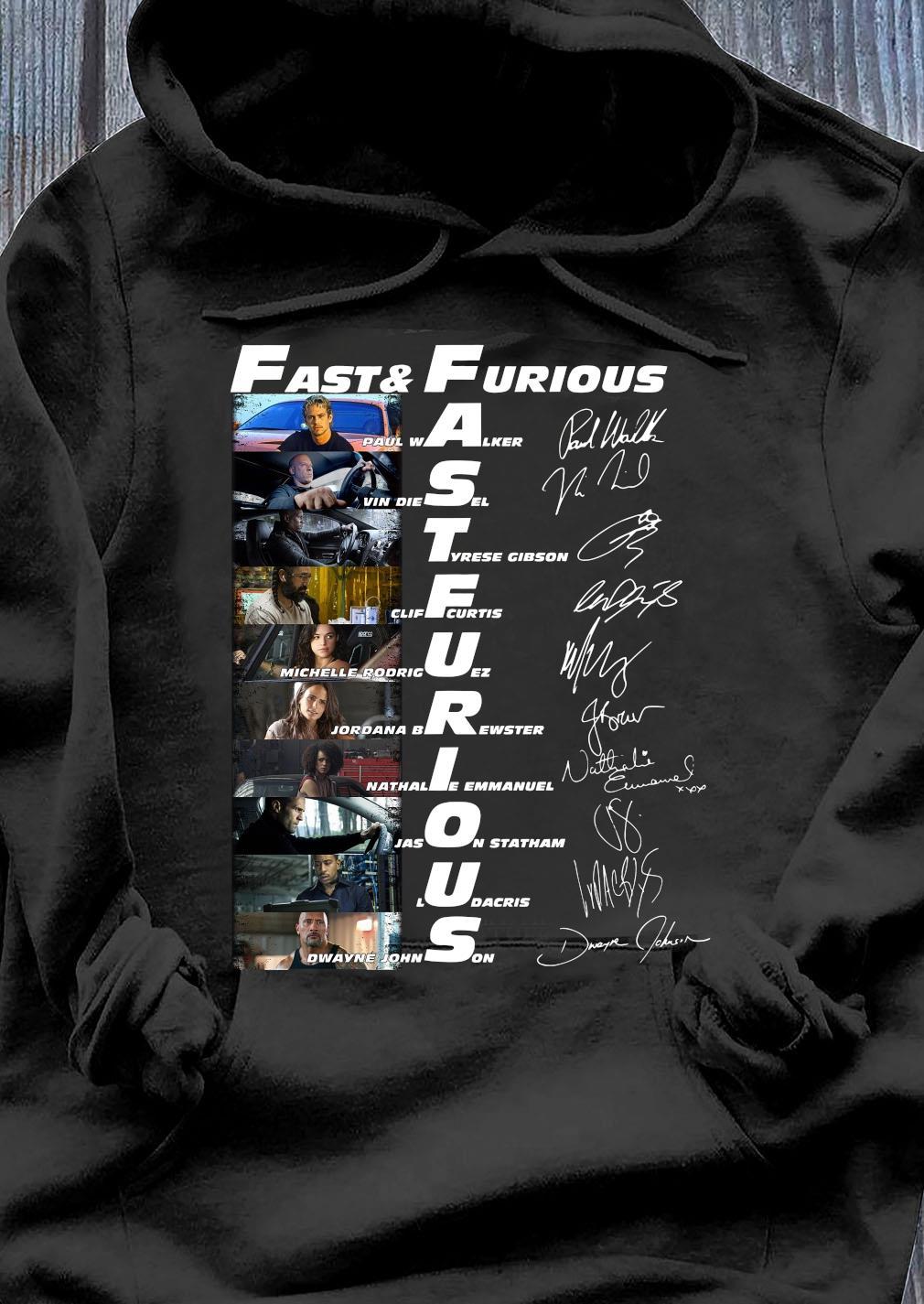 Fast & Furious Anniversary 9 Years Shirt Hoodie